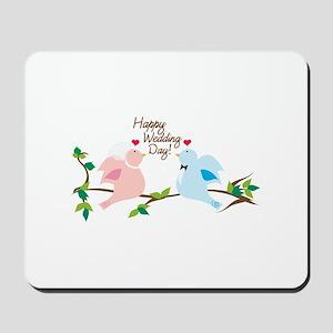 Happy Wedding Day! Mousepad