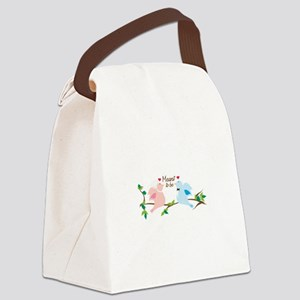 Meant To Be Canvas Lunch Bag