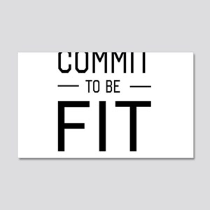Commit to be fit Wall Decal