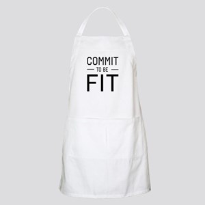 Commit to be fit Apron