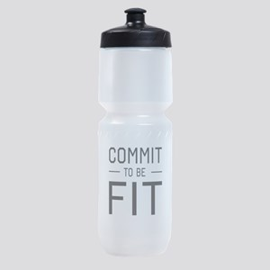 Commit to be fit Sports Bottle
