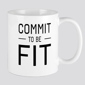 Commit to be fit Mugs