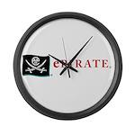 ePirate Large Wall Clock