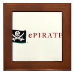 ePirate Framed Tile
