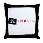 ePirate Throw Pillow