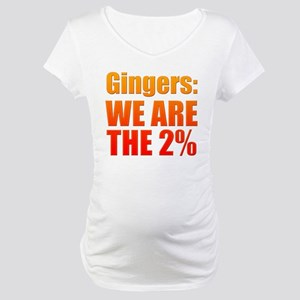 We Are The 2% Maternity T-Shirt
