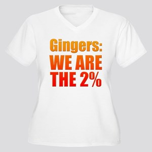 We Are The 2% Plus Size T-Shirt