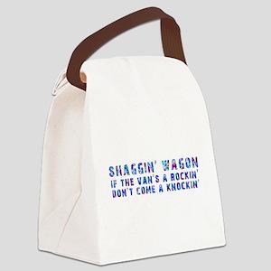 Shaggin' Wagon Circles Canvas Lunch Bag