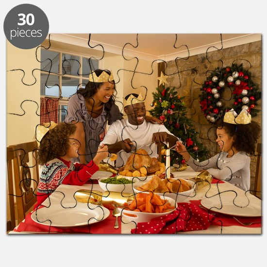 African American Family Christmas 1103-2 Puzzle