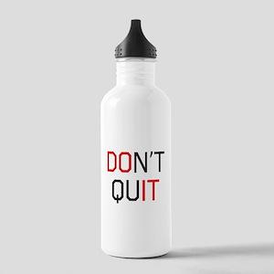Don't quit do it Water Bottle
