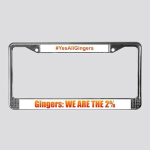 We Are The 2% License Plate Frame