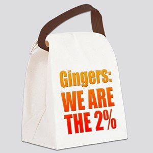 We Are The 2% Canvas Lunch Bag