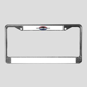 logo2 License Plate Frame
