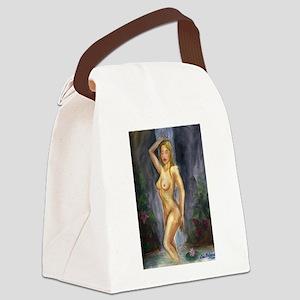 Venus1 Canvas Lunch Bag