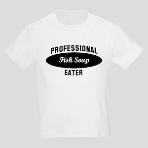 Pro Fish Soup eater Kids Light T-Shirt