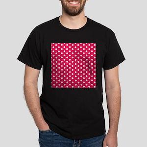 Pink And White Polka Dots T-Shirt