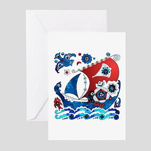 Danish Seas Greeting Cards (Pk of 10)