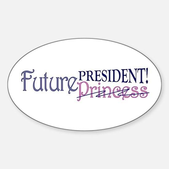 Future Princess Oval Decal
