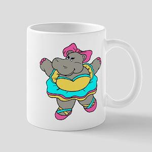Ballerina Hippo Mugs