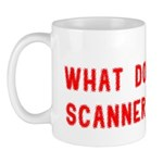What does a scanner see? Mug