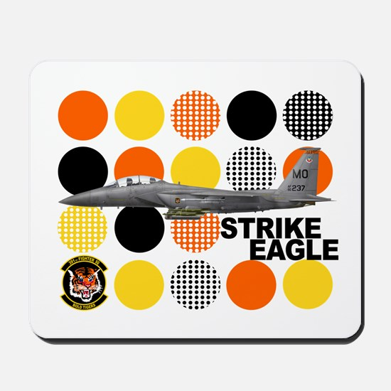 391st Fighter Squadron Bold T Mousepad