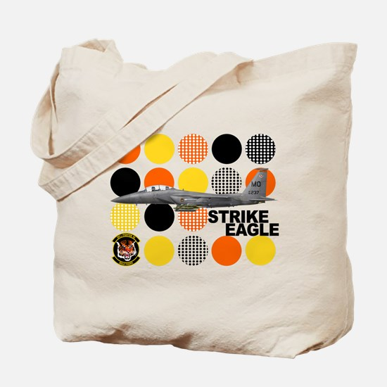 391st Fighter Squadron Bold T Tote Bag