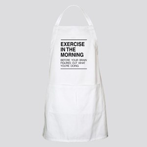 Exercise in the morning Apron
