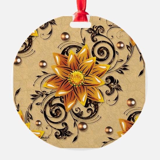 $ Flowers Ornament