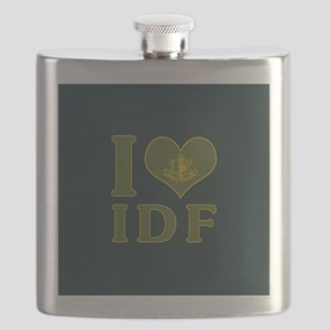 I Love IDF - Israel Defense Forces Flask