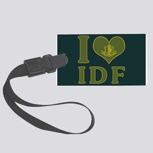 I Love IDF - Israel Defense Forces Luggage Tag