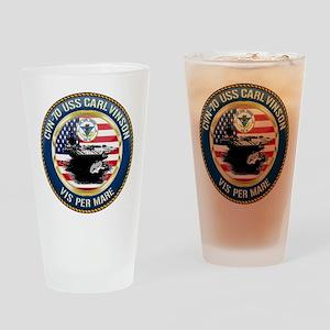 CVN-70 USS Carl Vinson Drinking Glass