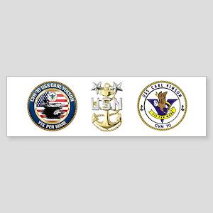 CVN-70 USS Carl Vinson Sticker (Bumper)
