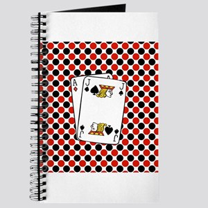 Red Black Cards Journal
