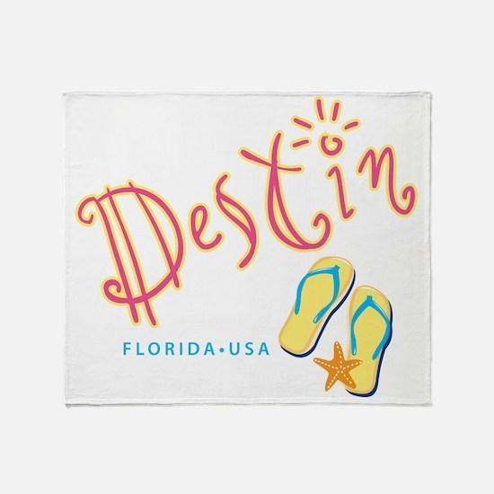 Destin - Throw Blanket