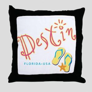 Destin - Throw Pillow