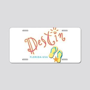 Destin - Aluminum License Plate