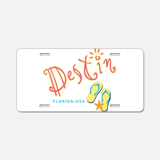 Destin - Aluminum License Plate