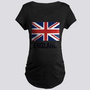 I Heart England Maternity T-Shirt