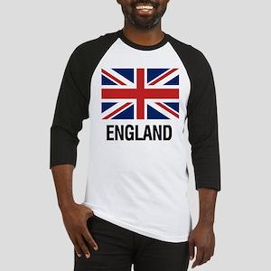 I Heart England Baseball Jersey