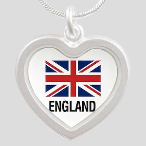 I Heart England Necklaces