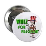 Authentic Naked Whiz For President Button