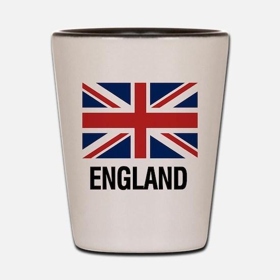 Cute Great britain Shot Glass