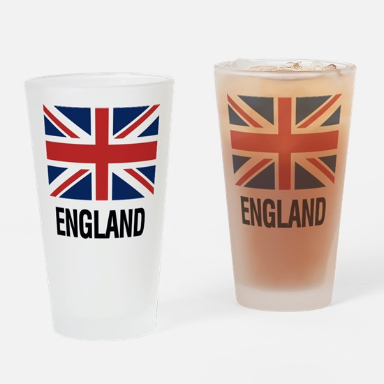 Unique Flags british Drinking Glass
