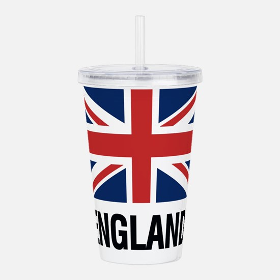 Unique Flags british Acrylic Double-wall Tumbler