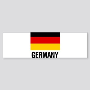 I Heart Germany Bumper Sticker