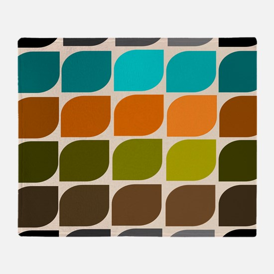 Mid-Century Modern Throw Blanket