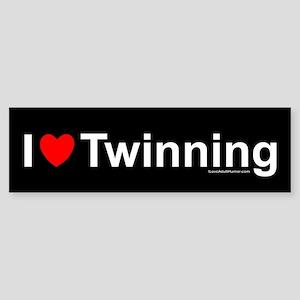 Twinning Sticker (Bumper)