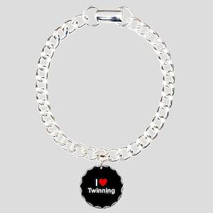 Twinning Charm Bracelet, One Charm