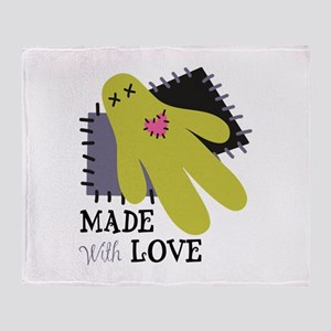 Made With Love Throw Blanket
