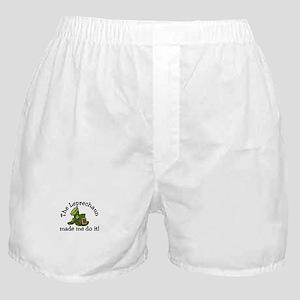 Leprechaun Made Me Boxer Shorts